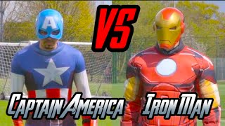 CAPTAIN AMERICA VS IRON MAN | EPIC DUEL!!!