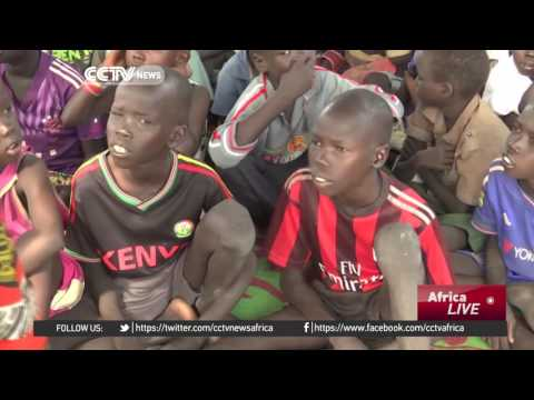 South Sudan's displaced children get chance to learn