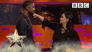 Dawn French wants to fight Michael B Jordan! - BBC