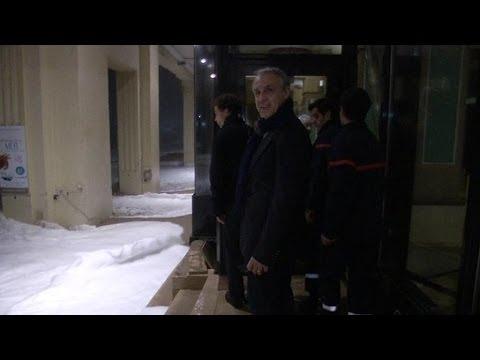 Intempéries: le casino de Biarritz assailli par les vagues - 07/01