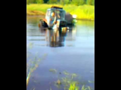 МТЗ-80 Микро трактор на радиоуправлении - ЯПлакалъ