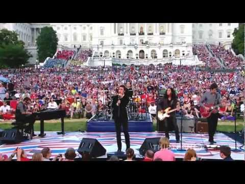 God Bless The USA by Kris Allen - 2011 National Memorial Day Concert