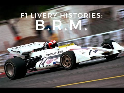 F1 Livery Histories: B.R.M.