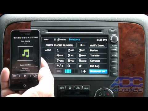 200711 Chevrolet Tahoe: Advent OE Navigation: Bluetooth Operation