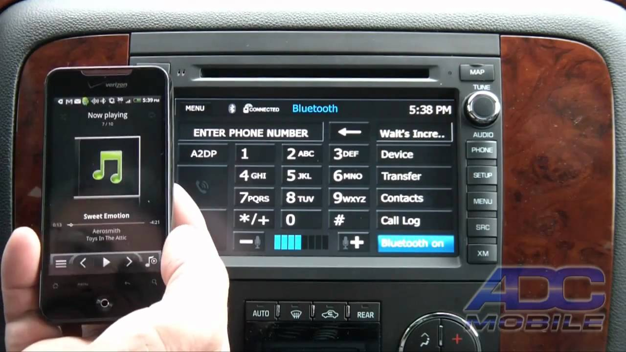 2007 11 Chevrolet Tahoe Advent Oe Navigation Bluetooth