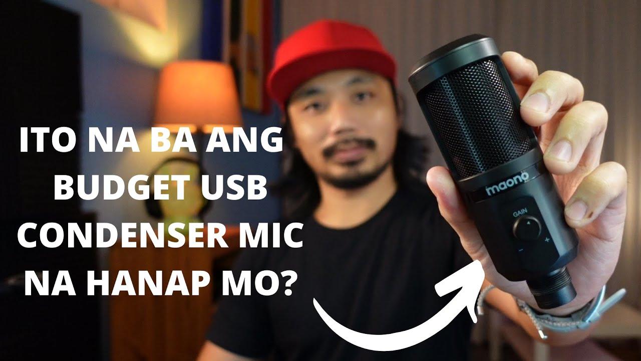 Download maono AU-PM461TR Mic Review - Tagalog
