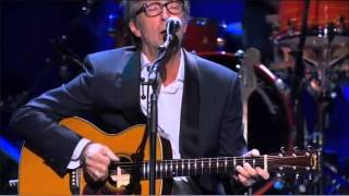 Eric Clapton performs Nobody Knows You When You're Down and Out at ...