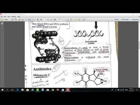 Anticancer Agents 05 - Antibiotics