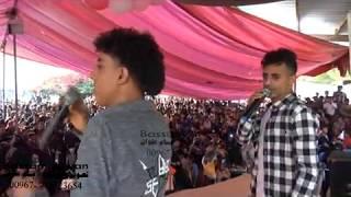 غناء القوة الضاربة الفنان وائل سرحان الفنان محمود القحصة في مهرجان صيف إب 3 عزف خالد سرحان