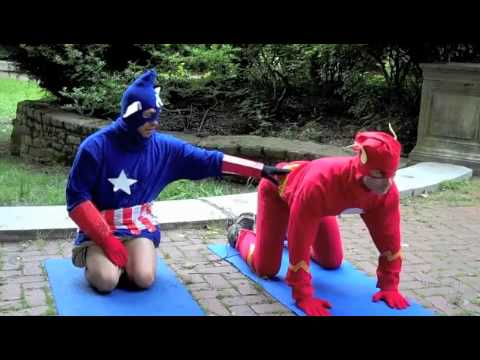 Yoga For Superheroes - Cat Cow - YouTube