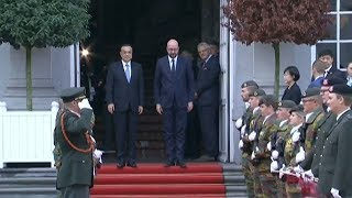 China and Belgium vow deeper economic cooperation