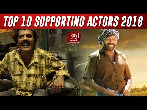 Top Supporting Actors Male 2018 I Munishkanth I Kaali Venkat I Sathyaraj I Manigandan