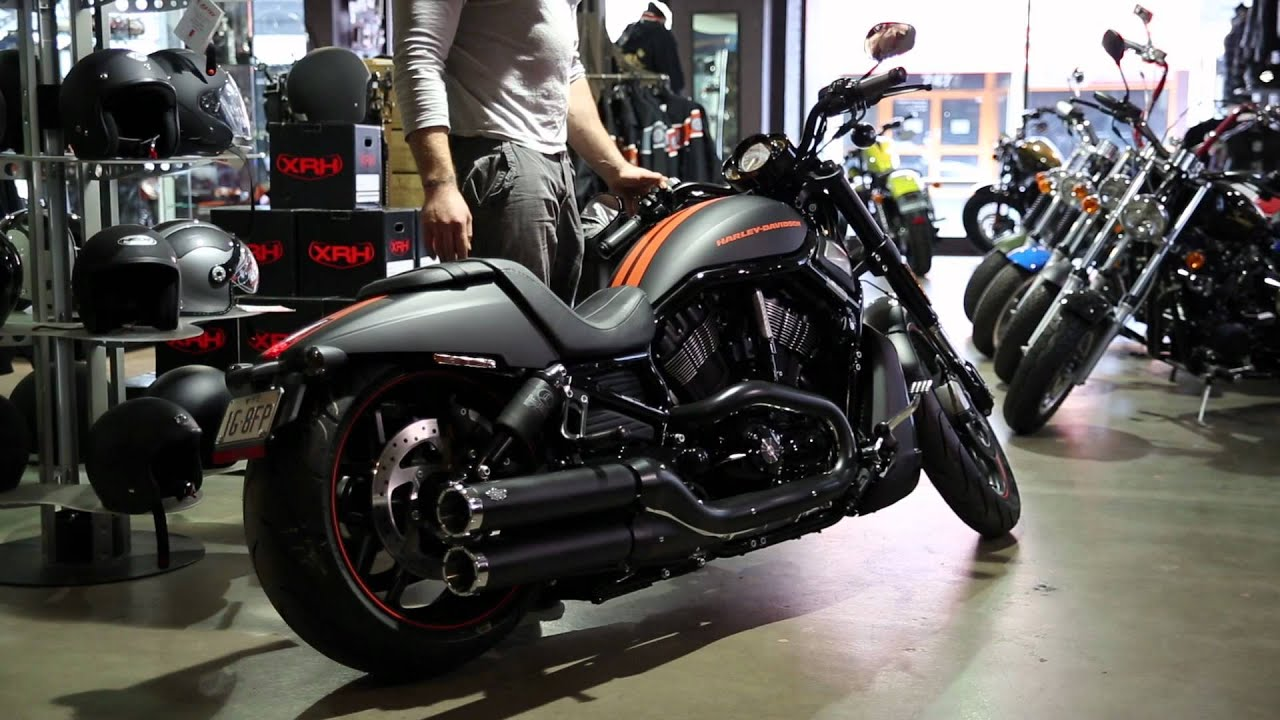 Harley City testing out the 2013 Night Rod Special with Legend Air ...