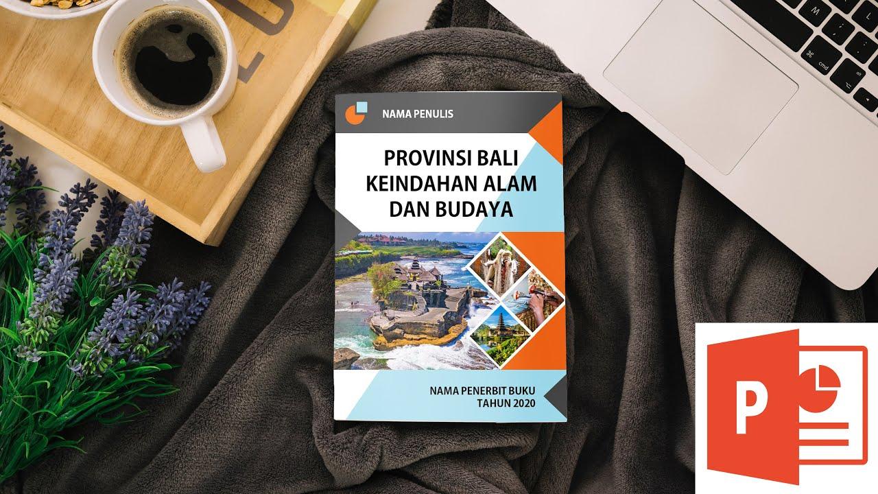 Cara Membuat Desain Cover Buku di PowerPoint | Cover Eps. 5