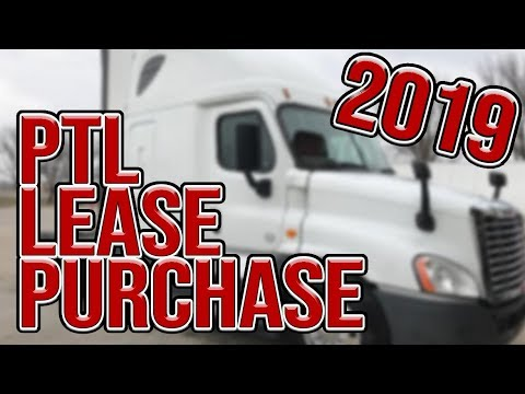 Paschall Truck Lines Lease Purchase Program 2019
