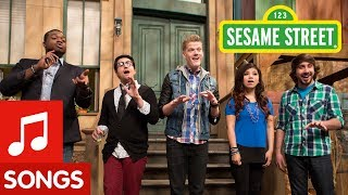 Repeat youtube video Sesame Street: Pentatonix Counts (& Sings) to Five