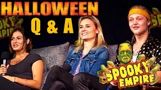 rob zombies halloween cast q a at spooky empire retro 2017 - Halloween Actors 2017