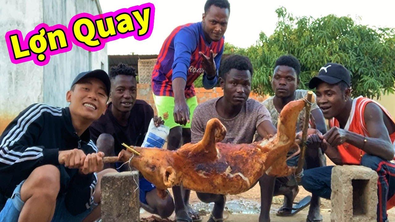 Ẩm Thực Châu Phi || Lợn Quay Nguyên Con Siêu Cay ( Whole Spicy Roast Pork )