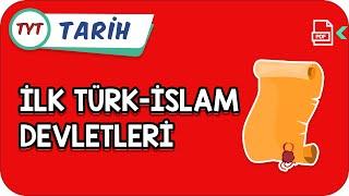 İlk Türk-İslam Devletleri  Kamp2021   YazKampı