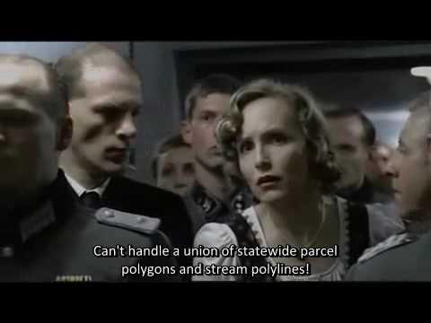 Adolf Hitler Furious at ESRI Software