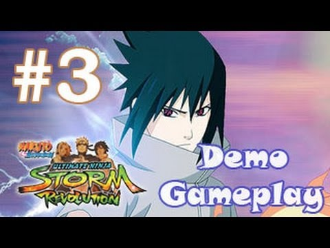 Naruto Ultimate Ninja Storm Revolution Gameplay Sasuke Despertar