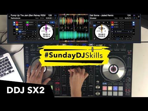 Pioneer DDJ SX2 - House Mix - #SundayDJSkills