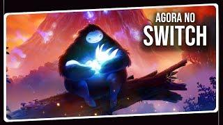 Jogo Espetacular Agora no Nintendo Switch | Ori and the Blind Forest Gameplay em Português PT-BR