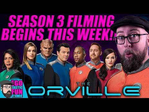 BREAKING!!! The Orville Season 3 Production Begins THIS WEEK!!! Fan Discussion Live Show 'Splosion