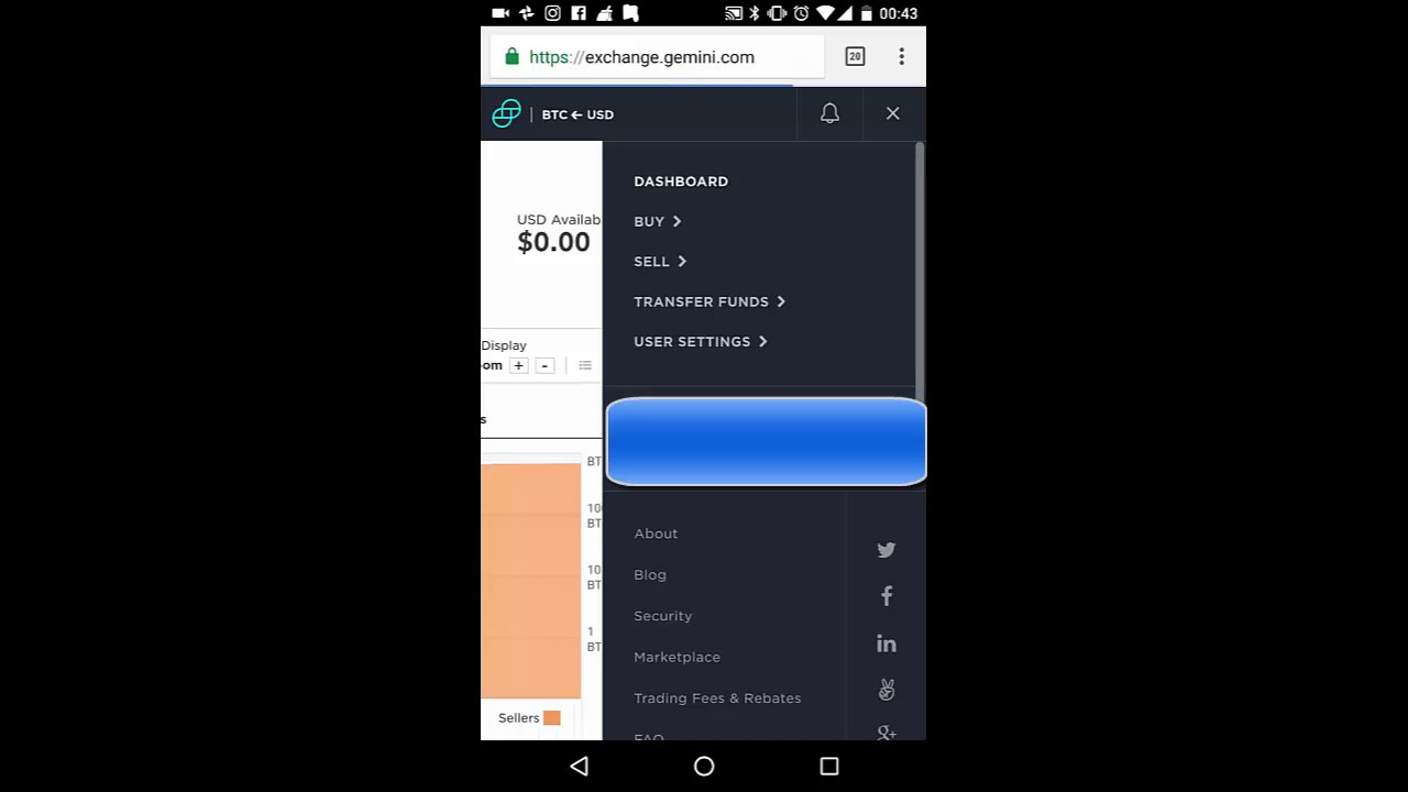 How To Buy Btc (bitcoin) In Gemini Exhange On Phone Android