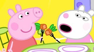 Peppa Pig Official Channel | Peppa Pig and Suzy Sheep Visit Miss Rabbit