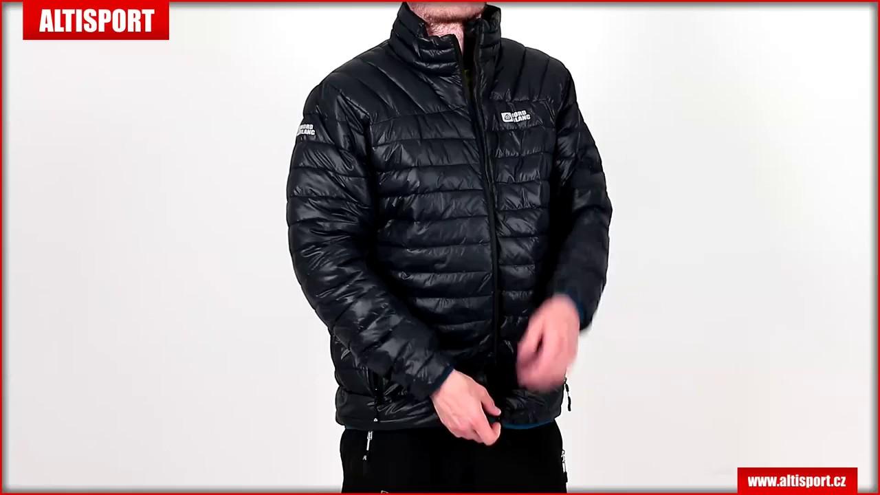 new styles 76afa 296cc pánská zimní bunda nordblanc cache nbwjm6411 černá