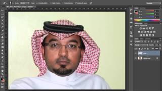 دورة فوتوشوب 7  استخدام اداة lasso tools لرجوع الى الصورة الاصلية بعد عمل خطئ بها