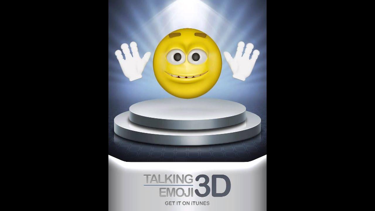 Talking 3D Emoji Farts
