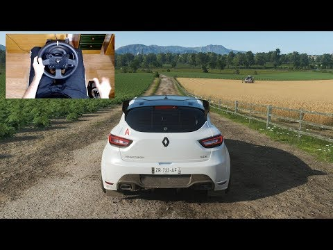 Forza Horizon 4 - RENAULT CLIO RS 16 CONCEPT - Test Drive with THRUSTMASTER TX + TH8A - 1080p60FPS