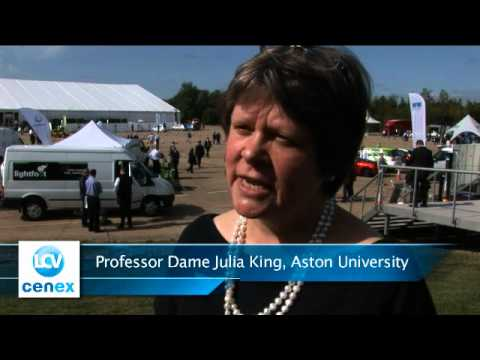 Professor Dame Julia King, Aston University Speaking at LCV2012