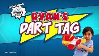 Ryan's Dart Tag E-Radicator Motorized Blaster   Ryan's World Blasters
