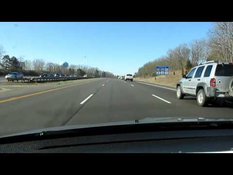 Driving with Scottman895: I-75 NB M-59 to Grand Blanc, MI