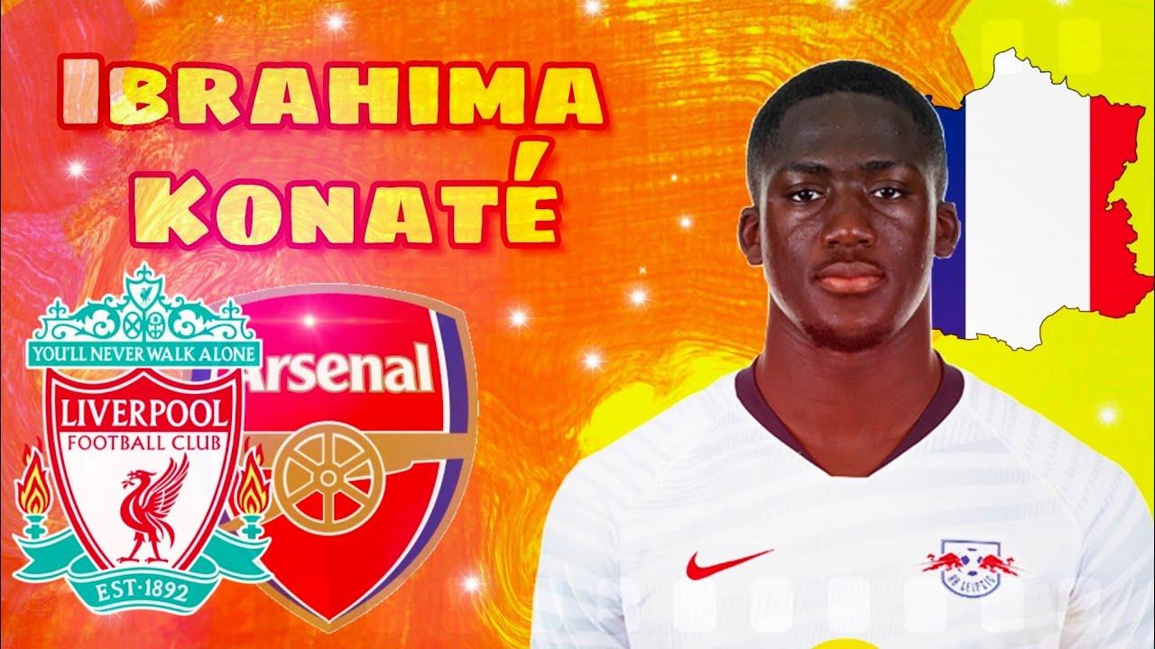 🔥 Ibrahima Konaté ○ This Is Why Arsenal & Liverpool Want Ibrahima Konate  2020 ▻ Skills & Goals - YouTube