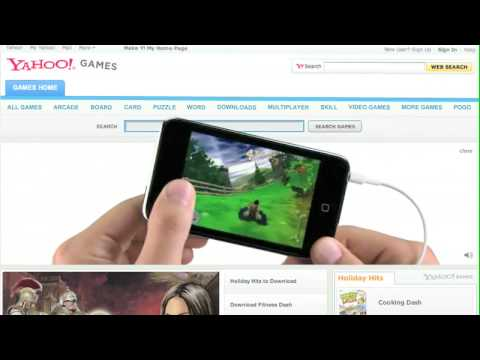 iPod Touch Web Ad - Yahoo! Games
