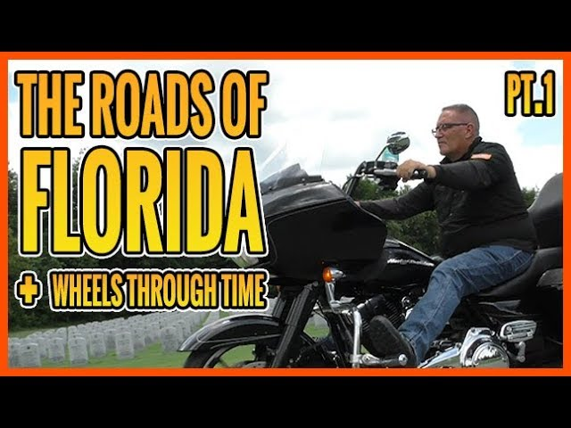 Born To Ride Episode 1218 - The Roads of Florida, Wheels Through Time, Crazy Animals