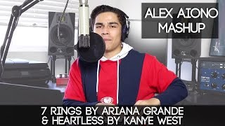 7 rings by Ariana Grande & Heartless by Kanye West | Alex Aiono Mashup MP3