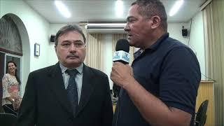 VEREADOR GLADIS BANDEIRA LEVOU A SEC  SANDRA LIRA PARA CONHECER OS PROBLEMAS NA SAÚDE DA COMUNIDADE