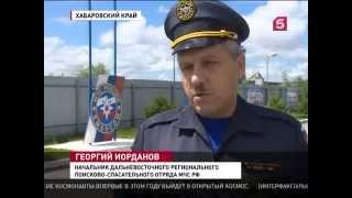 Обучение Курильских спасателей в Хабаровске