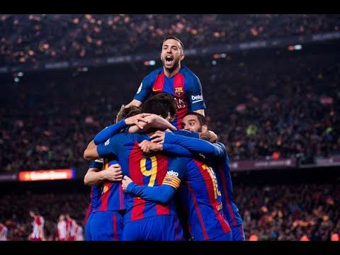 FC Barcelona - ALL 116 GOALS in La Liga 2016/17 (HD)