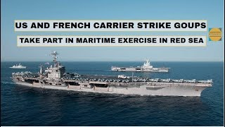 US and French Carrier Groups Exercises (2019)[Today]| John C. Stennis Carrier Strike Group