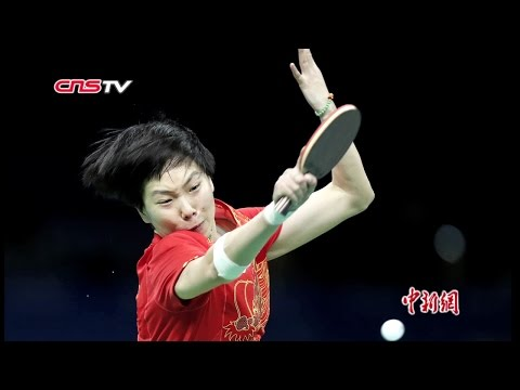 中国乒乓球女队里约奥运三连冠  名将李晓霞满意退役 / China wins table tennis gold in women\'s team, Li Xi