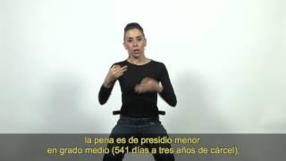 Guía legal en lengua de señas: Conducción y consumo de alcohol