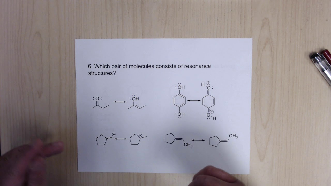 ACS Organic Chemistry Final Exam Review - Structure ...