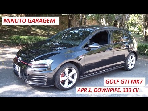 minuto garagem golf gti mk7 reprograma o downpipe 330. Black Bedroom Furniture Sets. Home Design Ideas