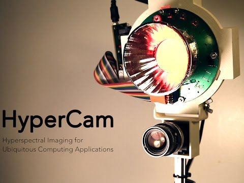 HyperCam: HyperSpectral Imaging for Ubiquitous Computing Applications
